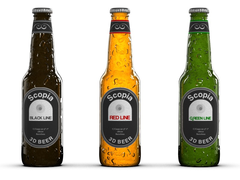Packaging – botellas de cerveza