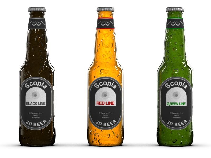 Packaging – botellas de cerveza
