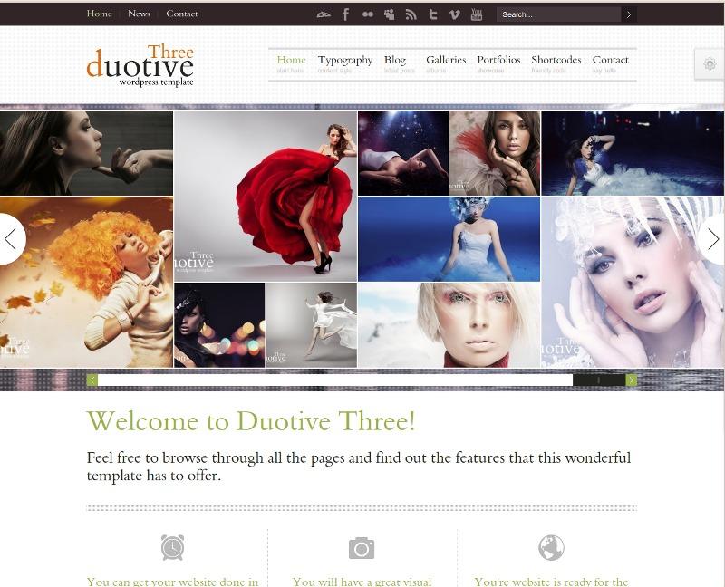 Web para catálogos – Duotive Three