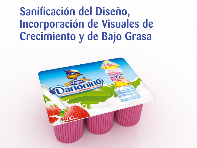 Branding – Vídeo 3D Danonino