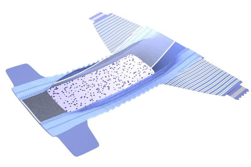 Imagen para packaging – Dodot 2010