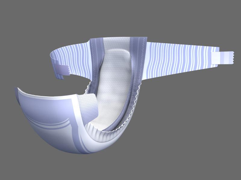 Imagen para packaging – Dodot 2008