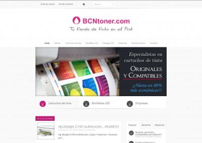 Web con catálogo – BCNTóner
