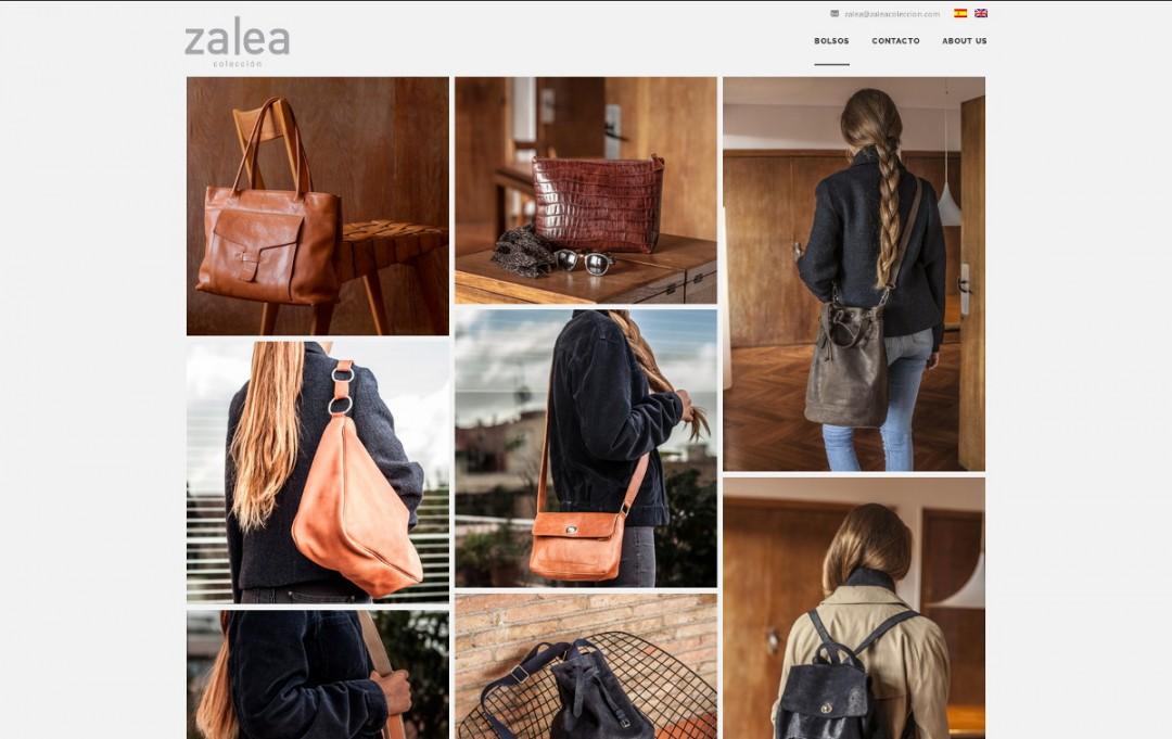 Web de venta online – Zalea