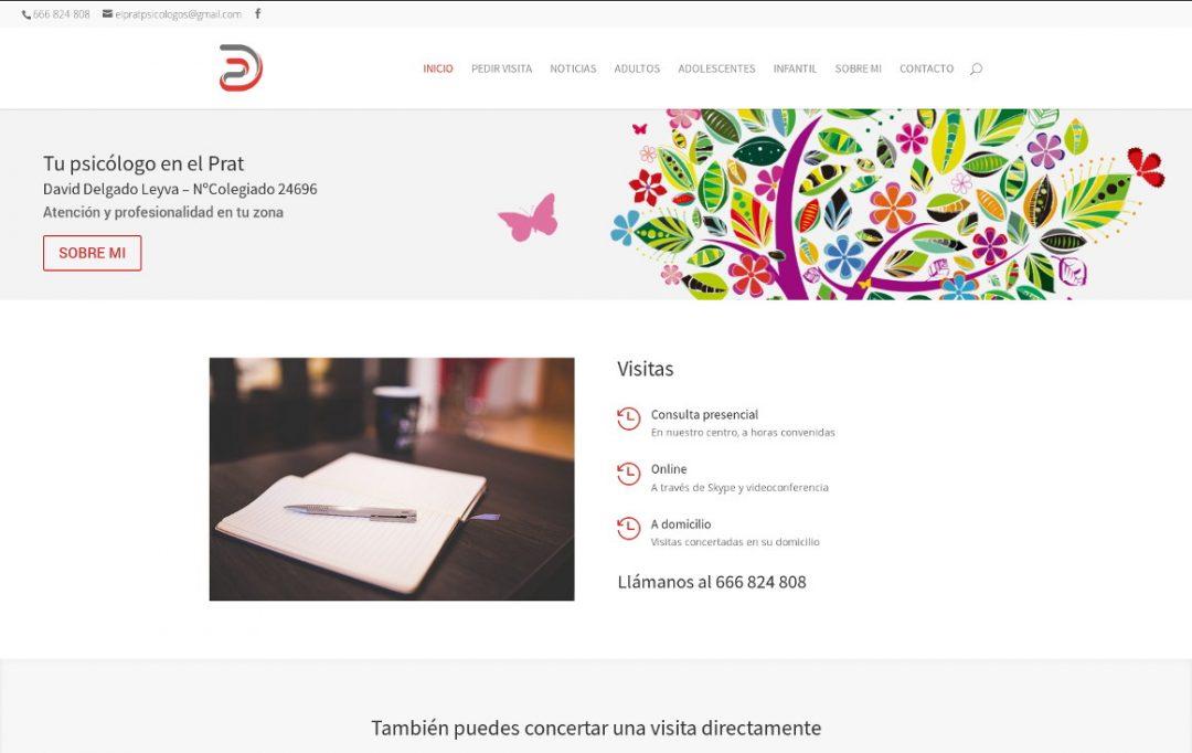 Web profesional para psicólogo