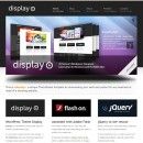 Web corporativa visual – Display
